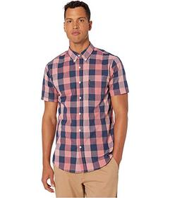 Ben Sherman Short Sleeve Large Plaid Shirt