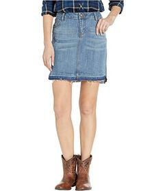 Stetson Medium Wash Denim Skirt