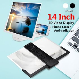 12''/14'' 3D Folding Phone Screen Magnifier Eyes P