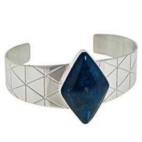Jay King Sterling Silver Diamond-Shaped Blue Apati