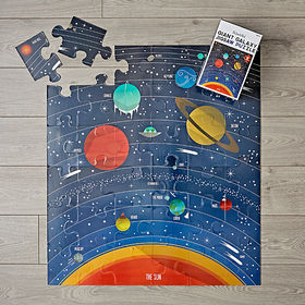Crate Barrel Giant Galaxy 36-Piece Puzzle