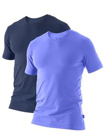 Perry Ellis Conformity 2 Pack V-Neck short sleeve