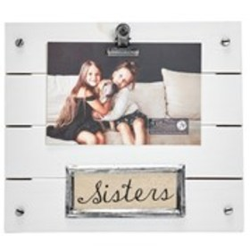 """Sisters Wooden Clip Frame - 4"""" x 6"""""""