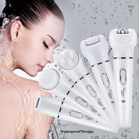 5 in 1 Electric Hair Removal Epilator Lady Shaver
