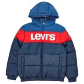 LEVI'S Boys Logo Graphic Hooded Puffer Coat (8-20)