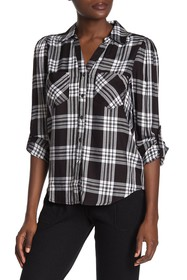 Rampage Plaid Button Down Shirt