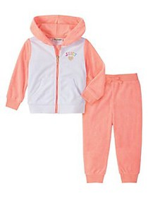 Juicy Couture Little Girl's 2-Piece Cotton-Blend H