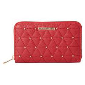 Womens Rampage Studded Zip Around Wallet