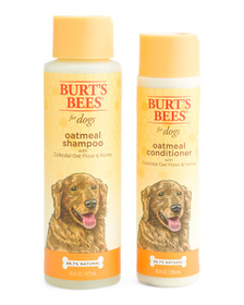 BURT'S BEES Oatmeal Dog Shampoo & Conditioner