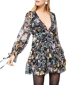 Free People - Closer To The Heart Tiered Floral Dr