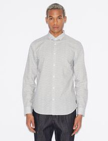 Armani COTTON-SATIN SHIRT