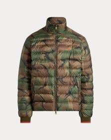 [object Object] Packable Camo Down Jacket
