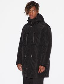 Armani HOODED TRENCH COAT