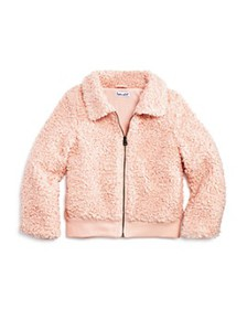 Splendid - Girls' Faux Fur Textured Jacket - Littl