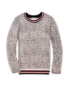 Splendid - Girls' Leopard-Pattern Sweater - Big Ki