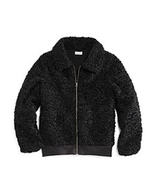Splendid - Girls' Faux Fur Textured Jacket - Big K