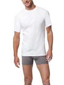 Men's X-Temp Comfort Cool White Crewneck 5-Pack Un