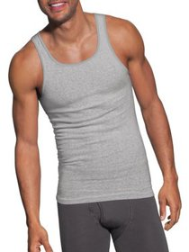 Men's ComfortSoft Assorted Colors Tagless Tanks, 5