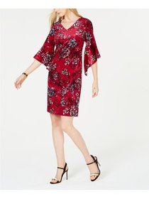 NY Collection - Printed Dress - Petite - PET/MED