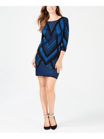 NY Collection Petite Printed Sweater Dress Silvia