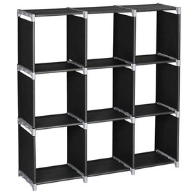 Ktaxon 3-Tier DIY Storage Cube Organizer Closet 9-