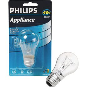 Philips Lighting Co 40w A15 Clear Applnc Bulb 2999