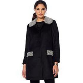 """""""As Is"""" Colleen Lopez Opulence Embellished Wool Co"""