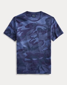 [object Object] Classic Fit Camo T-Shirt
