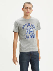 Levi's Cali Bear Graphic Tee Shirt
