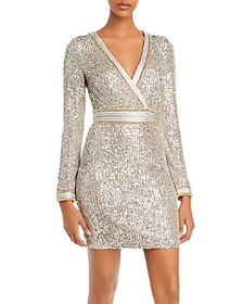 GUESS - Patrice Sequined Sheath Dress