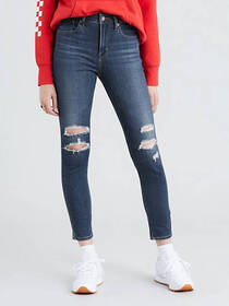 Levi's 721 High Rise Ankle Skinny Ripped Women's J
