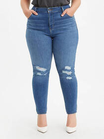 Levi's 721 High Rise Skinny Ripped Women's Jeans (