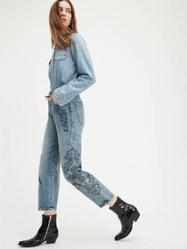 Levi's Embroidered Barrel Women's Jeans