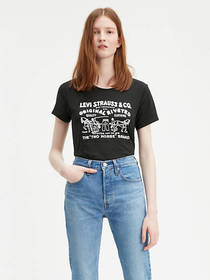 Levi's Two Horse Bubble Graphic Tee Shirt