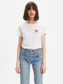 Levi's Chest Heart Graphic Tee Shirt