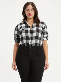 Levi's Autumn Boyfriend Shirt (Plus Size)