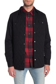 Triple Five Soul Quilted Shirt Jacket
