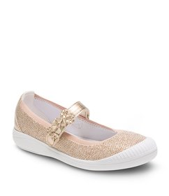 Stride Rite Girls' Layla Shimmer Mary Janes