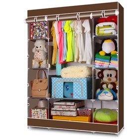 Ktaxon 4-Tier Portable Closet Storage Organizer Wa