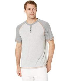 Tommy Bahama Short Sleeve Henley with Wicking