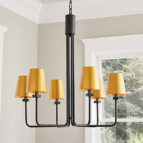 Classic Metal Chandelier Shade