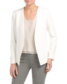 MATTY M Long Sleeve Contemporary Blazer