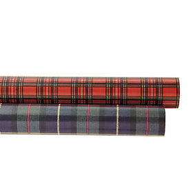 Suzanne Kasler Plaid Gift Wrap - Set of 2 Rolls