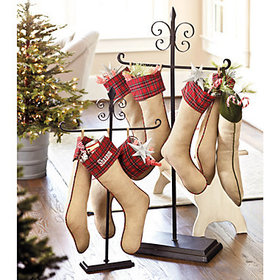 Tabletop Stocking Holder