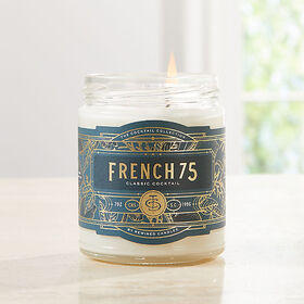 Crate Barrel Rewined French 75 Cocktail Candle