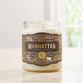 Crate Barrel Rewined Manhattan Cocktail Candle