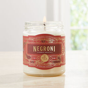 Crate Barrel Rewined Negroni Cocktail Candle