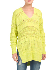 FREE PEOPLE Hot Tropics Pullover Sweater