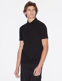 Armani REGULAR FIT COTTON POLO SHIRT