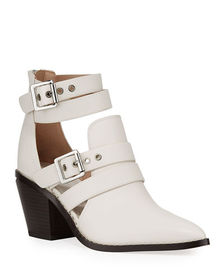 BCBGeneration Dani Cutout Biker Booties